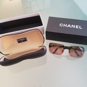 Chanel rimless glasses. Brand new condition.